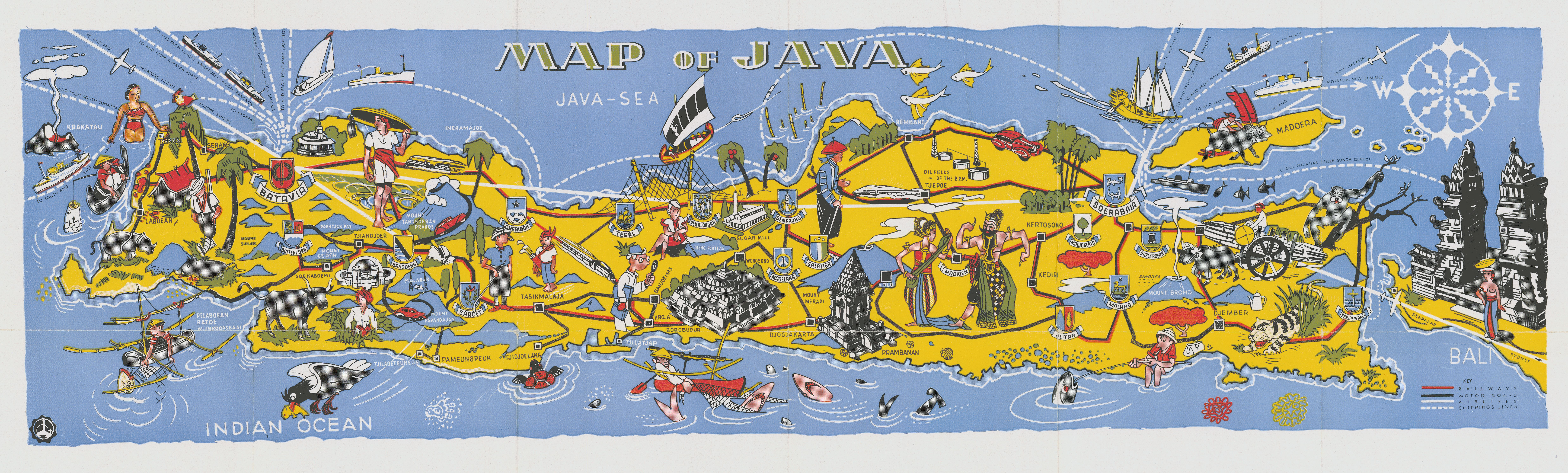 Fascinating Historical Picture of Java in 1938